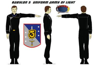 Babylon 5  Uniform Army of Light by bagera3005