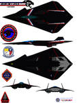 Lockheed  EFX-70 Panther VFA-2 bounty hunters by bagera3005