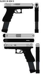 Glock 18 Gen 5 Nickle