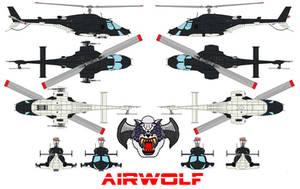AIRWOLF Bell 222