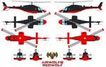 AIRWOLF 2 Redwolf bell 222