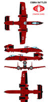 Cobra Rattler Crimson Guard