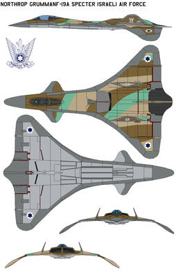 Northrop GrummanF-19A Specter Israeli Air Force