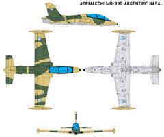 Aermacchi MB-339 Argentine Naval