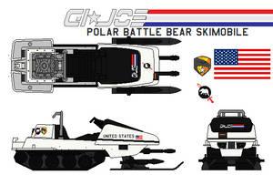 GI-JOE polar-battle-bear-skimobile