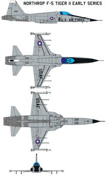 Northrop F-5 Tiger II early series