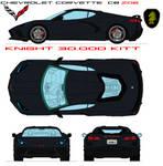 Chevrolet Corvette C8 ZO6 Knight 30.000 KITT
