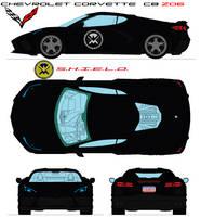 Chevrolet Corvette  C8 S.H.I.E.L.D.