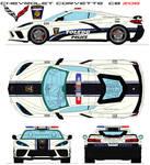 Chevrolet Corvette c8 zo6 toledo police