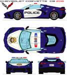 Chevrolet Corvette c8 zo6  Police