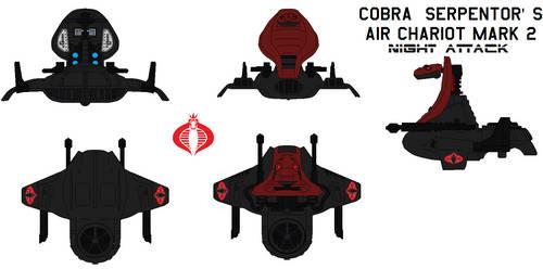 Cobra  SERPENTOR'S AIR CHARIOT  Night  attack
