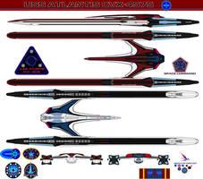 USS Atlantis CVX-4575 redesign 7