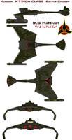 Klingon  K'T'INGA CLASS IKS HaH'vat Battle Cruiser