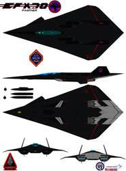 Lockheed  EFX-70 Panther 2  black knight 2