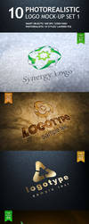 10 Realistic Logo Mock-up by creativity-online
