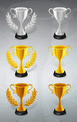 Trophy Vector by creativity-online