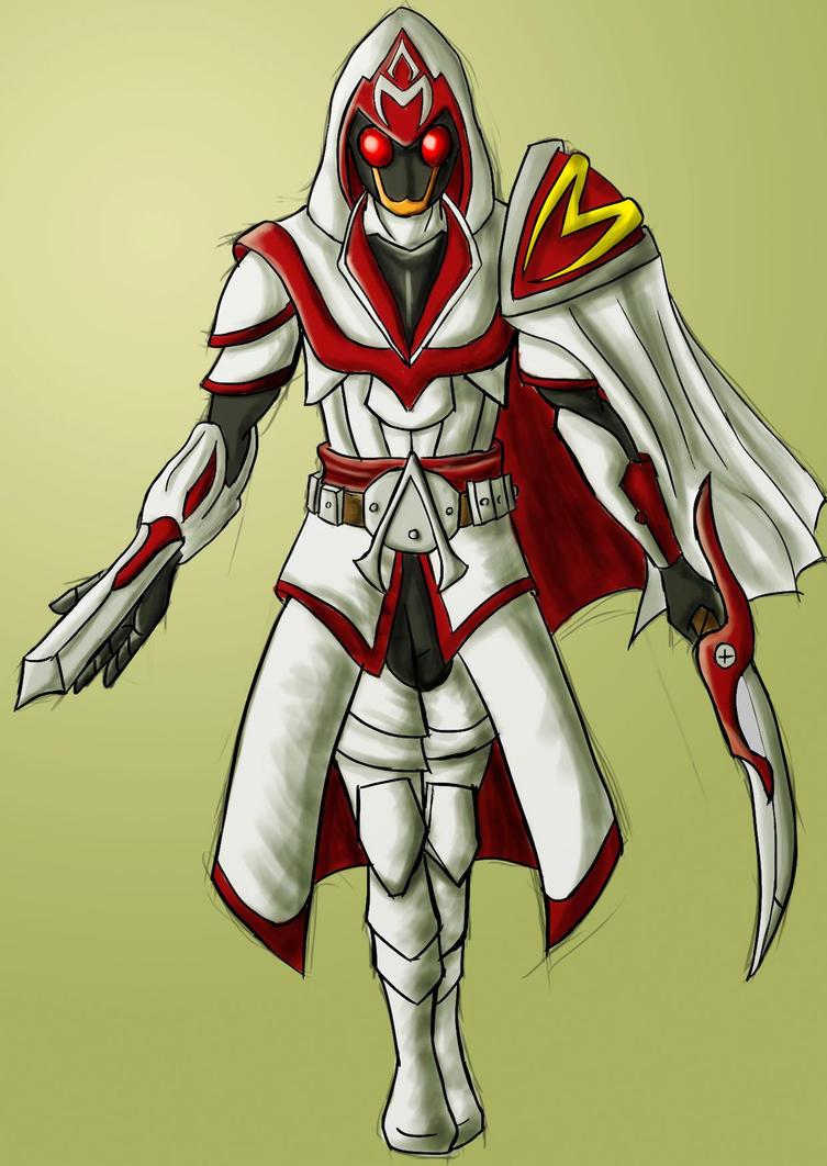 Kamen Rider Assassin by Kamenridermoik