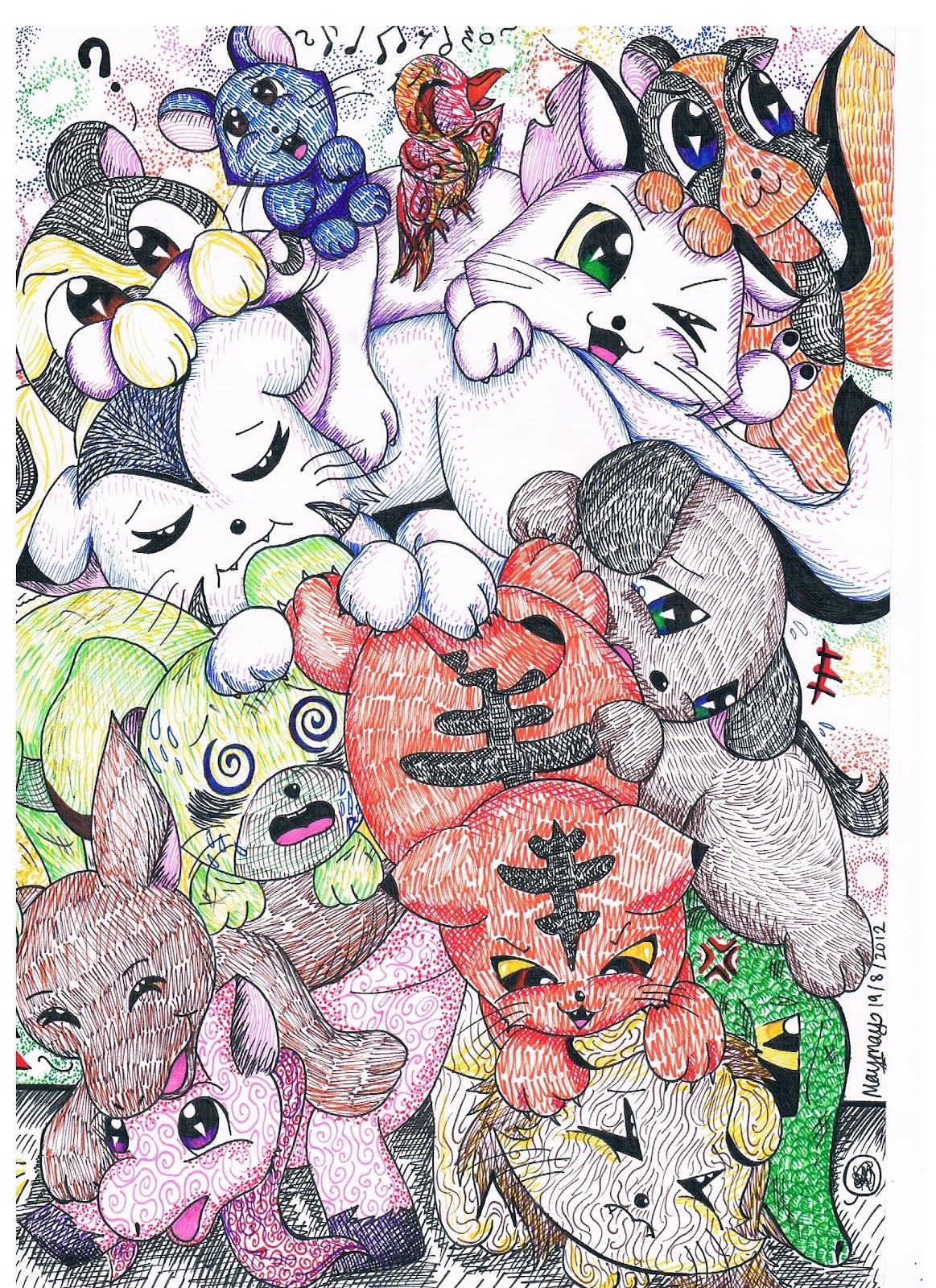 Group Huggles ~ by tsu-chi-kiera