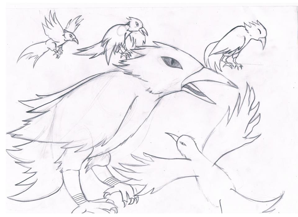 Faust - my (future) virtual crow/raven by tsu-chi-kiera