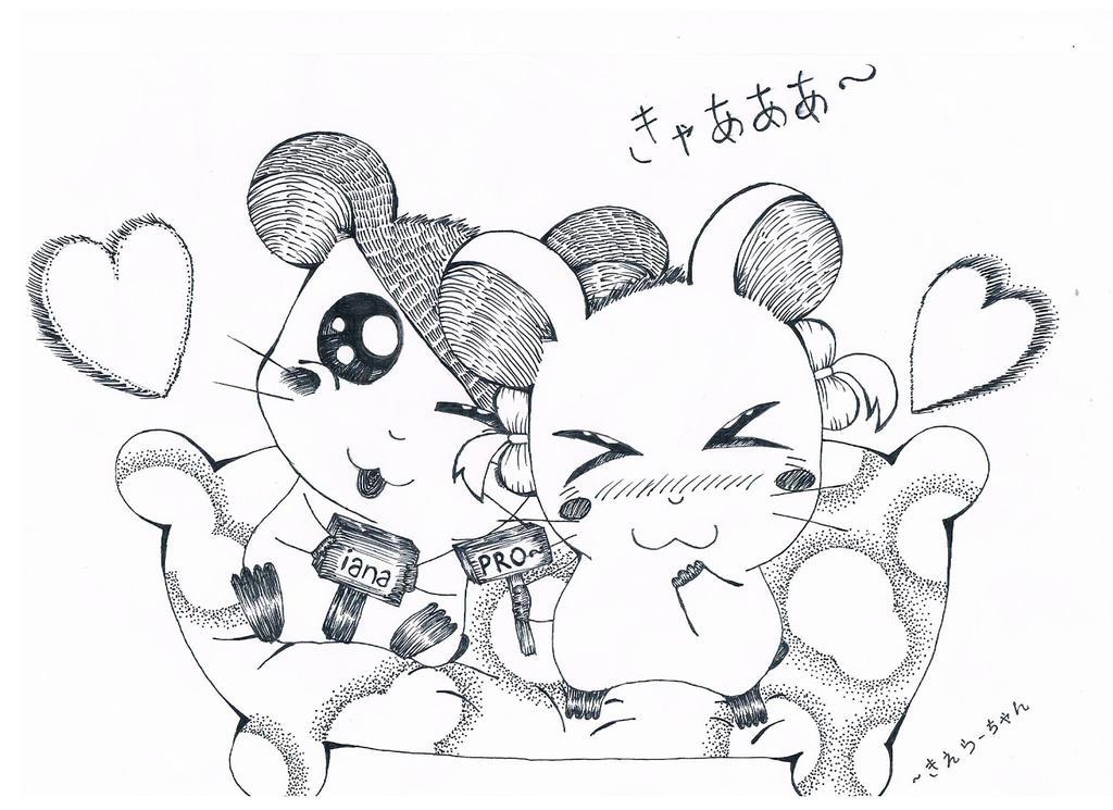 Ham-Ham Love ~ by tsu-chi-kiera