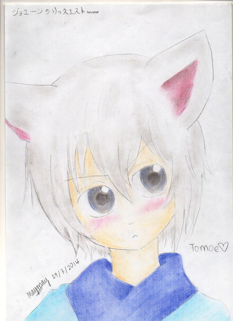 Tomoe - Hmph.. what are you looking at? by tsu-chi-kiera