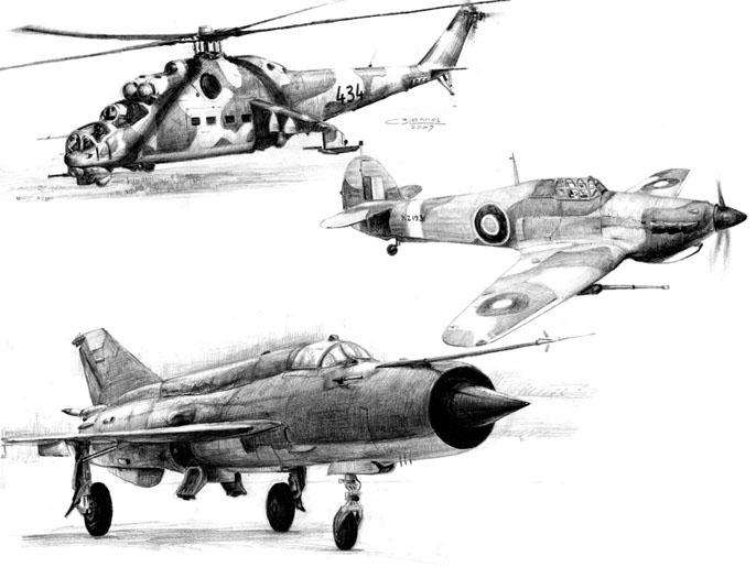 aircraft drawings 1 by makmunbaban on deviantart