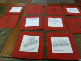 Jim Henson's Labyrinth: Game Cards: Haunts by MonnieBiloney