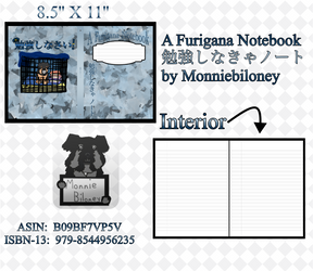 A Furigana Notebook Benkyou Shinakya Note