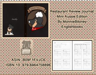 Restaurant Review Journal: Mini Aussie Edition