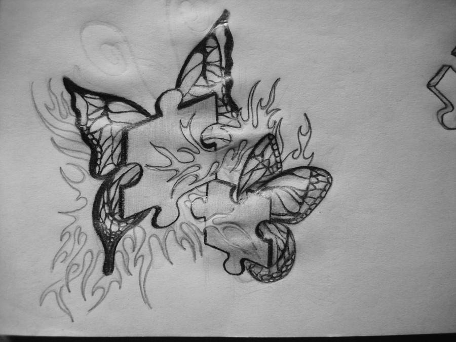 puzzle tattoo design by xx gem xx on deviantart. Black Bedroom Furniture Sets. Home Design Ideas
