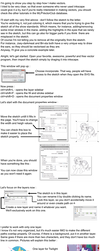 How to vector a sketch from A to Z (part 1) by Mamandil
