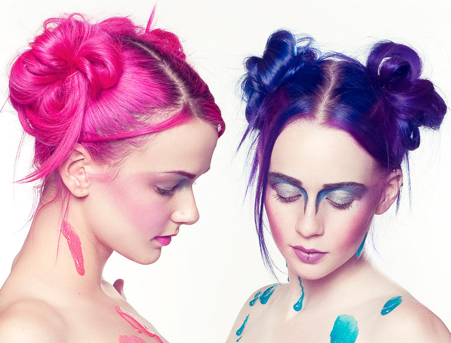 Blue N Pink - Details by MordsithCara