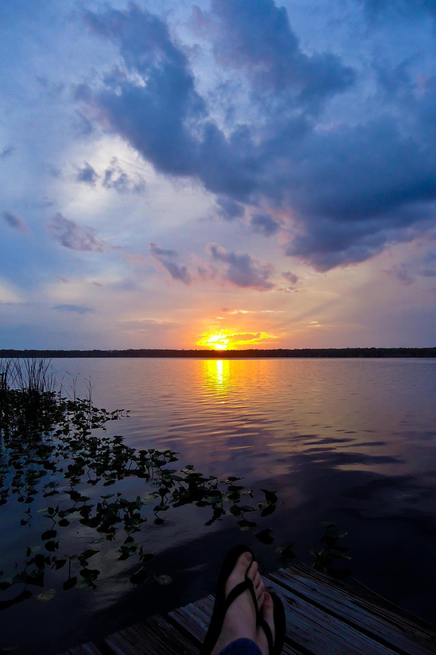 Sunset on the Lake by MordsithCara