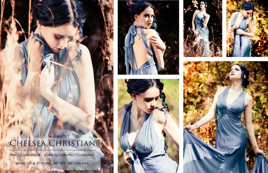 Blue Silk Sheathe - Comp by MordsithCara