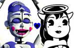 Ballora x Alice by AgentPrime