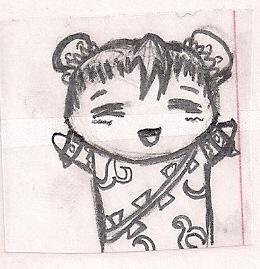 Chibi Chun-Li by humanhottie3