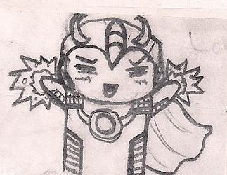 Chibi Loki by humanhottie3