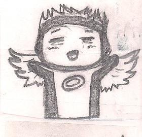 Chibi Angel by humanhottie3
