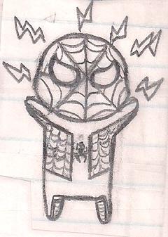 Chibi Spider-Man by humanhottie3