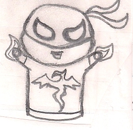 Chibi Iron Fist by humanhottie3