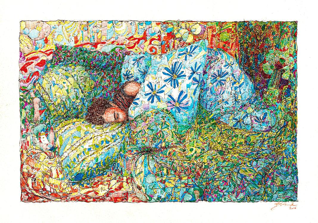 sleeping in by boskonst