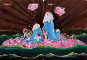 Candied Island from Flapjack on Magic Islands by BGaltered