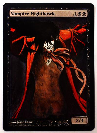 Alucard - Vampire Nighthawk by BGalteredVampire Alucard
