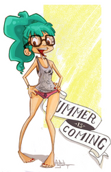 the summer is coming by Amoelexcso