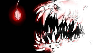 The Calll    deep sea creature by JellyBeanBullet