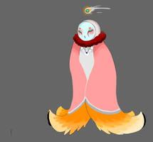 Owl God by JellyBeanBullet