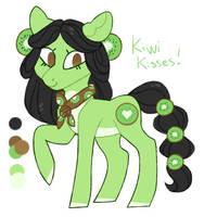 Earth Pony Auction {CLOSED} Kiwi Kisses by JellyBeanBullet
