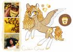 Moodboard Pony Adopt [CLOSED] Golden Glaze