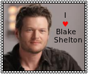 Blake Shelton Stamp by PrincessSkyCloud