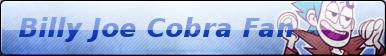 Billy Joe Cobra Fan Button by PrincessSkyCloud